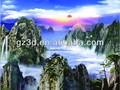 المناظر الطبيعية الجبلية صور ثلاثية الأبعاد 3d