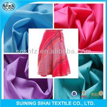 dress print plain shirting poplin polyester cotton fabric