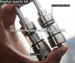 Newest!!! 2013 RainbowHeaven high quality pyrex glass kayfun atomizer for sale