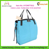 New Style Womens Classic Sky Blue Extra Large Tote Bag Cheap