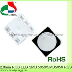 High quality 5050 2.8MM rgb smd led screen display