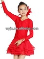 Enfants latine robe de danse