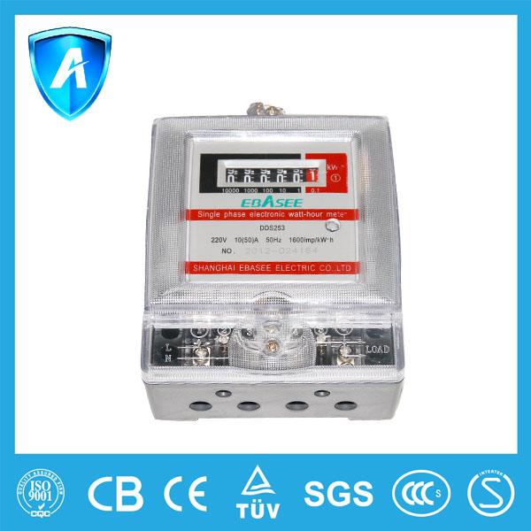 dds253 elektrik sayacı