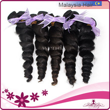 2014 Wholesale remy french curl malayian virgin hair body wave
