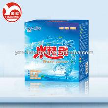 el lavado de polvo oem fabricación concentrado de embalaje caja de detergente enzimático