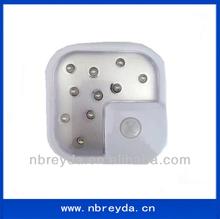 PIR Sensor Wall Lamp Light with 10 Led
