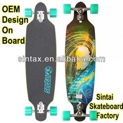 "Sector 9 Bamboo 42"" Drop Thru Complete Longboard skateboard"