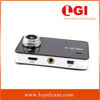2.7 inch LCD 140 degree angle lens front digital mini size loop recording 1080P Full hd portable car driving video recorder