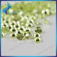 China-made manufactory cheap price apple green cz stone