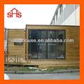contenedor de madera casa