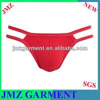 Sexy g string underwear for man, red g string