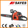 52cc gasoline chainsaw with CE, GS and TUV certification for sale