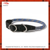 Round rope braided nylon dog collar