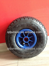 small pneumatitic trolley wheel tyres/tire 3.00/3.50-4