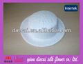 decorativos fa001 cubierto de encaje sinamay sombrero de copa de la base