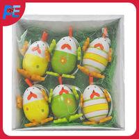 Chick shaped plastic Easter egg
