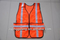 "1"" a rayas chaleco de seguridad, de color naranja"