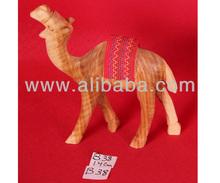 Nativity Wooden Camel B38 14cm or 20cm