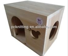 Wholesale Wooden 22*16*18cm Small Pet Nest for Birds Nest Pet House Bird House Pet Products for Birds