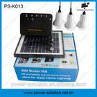 Money & energy saving panel solar system for rural home lighting