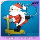 Christmas gift soft pvc keychain,soft pvc rubber keychain,3d pvc keychain