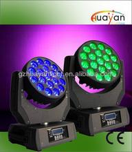 High Quality LED 19*12 Zoom Moving Head Light Wash DJ Lighting