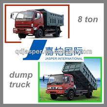 Hot Sale 8 Ton Medium Dump Truck