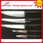 High quality damascus chef knife and Storage clearance sale