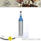 Ambulance breathing medical portable aluminum oxygen cylinder