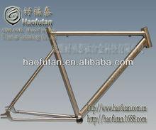 Fixd gear titanium bike frames HFT-RC-560 road bike frame