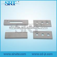 2014 High Quality Tungsten carbide razor blades with 3 hole