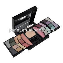 private label eyeshadow palette 12 eyeshadow/4 concealer/6 lip gloss/1 loose powder/1 blusher makeup eyeshadow palette #ISKIT#