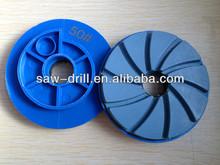 Diamond Snail Lock Polishing Pad Resin Bond