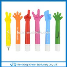 Yeah Gesture Plastic Balloint Pen, Novelty Hand Shaped Pens