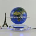 Globo magnetico fluttuante, magnetico globo rotante, magnetico globo sospeso con luci a led- globo blu