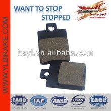 High temperature resistant pride brake pad