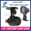 2014 New! 1.5'' NT Real HD 720P Car DVR Camera G-sensor Car DVR Black Box