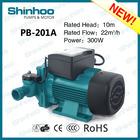 201A PB Shinhoo New Product High Efficiency Water Mechanical Pump Home Using