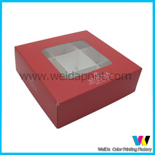 2014Dongguan Different types high quality Chocolate packaging box