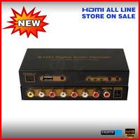 Digital audio converter 5.1 channel dts/ac-3 digital surround sound audio decode