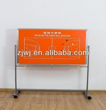School magnetic rotating teaching board for basketball