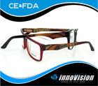 2014 Italian designer wood eyeglass frame