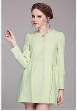 Mint korea women winter coat 2014 Buttoned sleeve