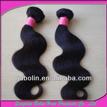6a garde Cheap Virgin Brazilian Body Twist Sew In Hair Extensions