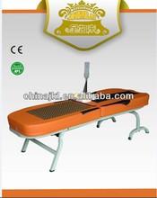 adjustable folding jade roller massage bed ( CE&ROHS )