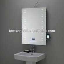 High end LED lighting bathroom Iphone mirror