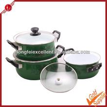 Esmalte utensilios de cocina / utensilios de cocina / cocina / pot de cerámica venta al por mayor ollas de barro y los titulares de adultos