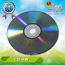 Rewritable cd/cdrw 700MB 12X 80Min