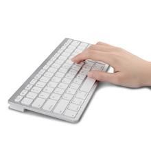 NEW BLUETOOTH WIRELESS SLIM KEYBOARD FOR APPLE iPAD iPHONE PC