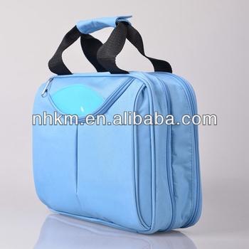 New Zipper Sky Blue Hanging Toiletry Travel Bag Organizer